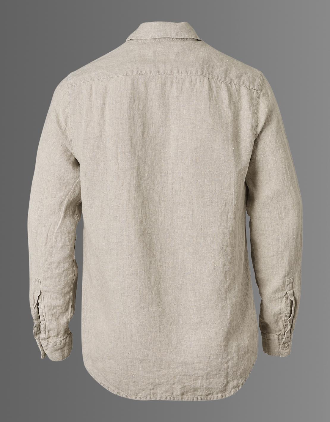 Ekologisk linneskjorta herr Nature - Lin Living 315d1a2c786bb